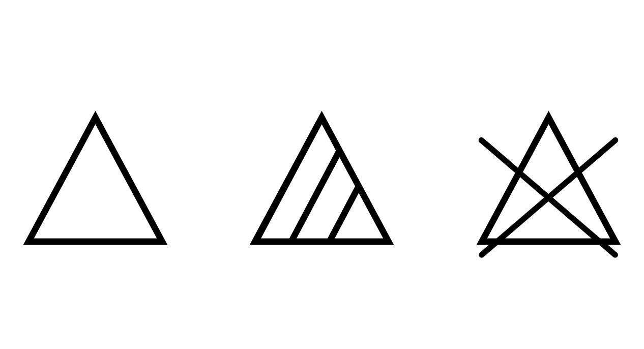 Bleichsymbole