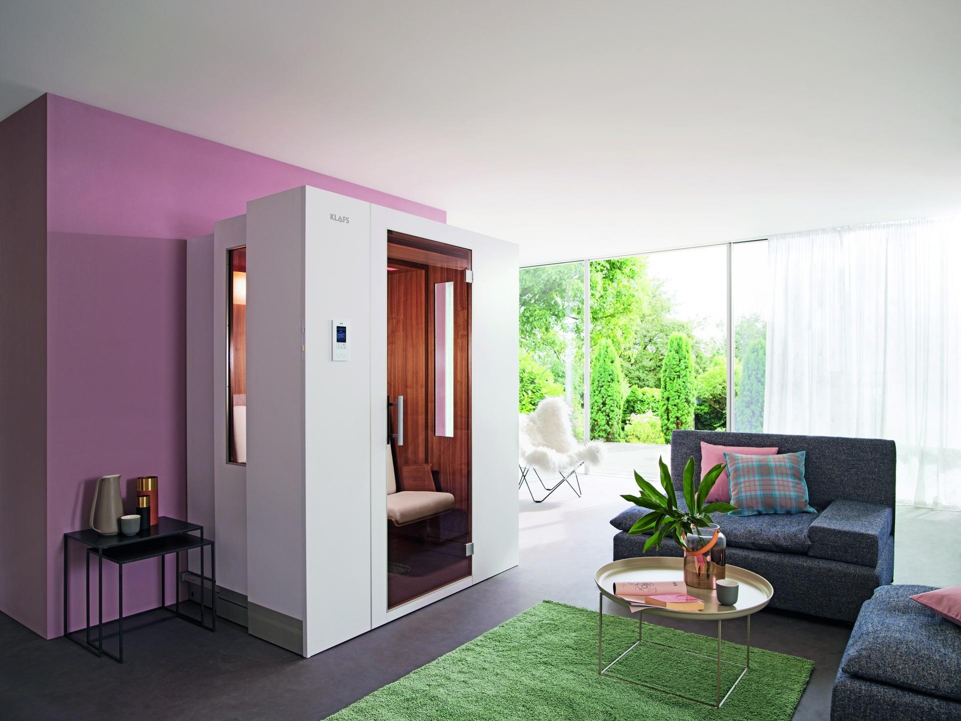 Elegant Sauna Für Zuhause Galerie Von Ambiente Im Wohnraum (bild Klafs S1)