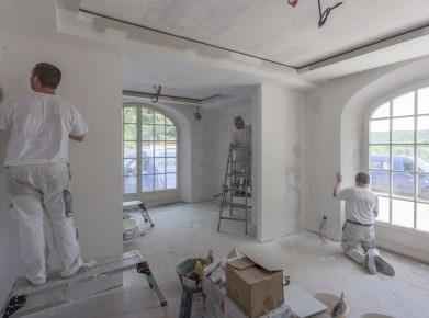 Gebäudeunterhalt ist abziehbar - zum Beispiel Maler- oder Tapeziererarbeiten. (Bild: fotolia)
