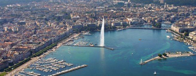 Genf und der Lac Léman gelten als Frühindikator: Der Immobilienmarkt 2017 stabilisiert sich hier. (Bild: Genève Tourisme / Zellweger.)