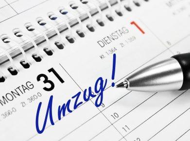 Termin und alles Organisatorische sollten Sie planen - damit Sie entspannt umziehen! (Bild: Fotolia)