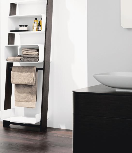 wie man den platz in kleinen b dern sinnvoll nutzt. Black Bedroom Furniture Sets. Home Design Ideas