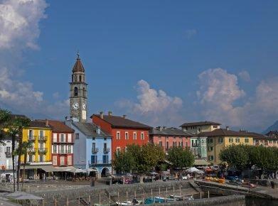 Ascona: Beliebter Touristenort im Kanton Tessin.