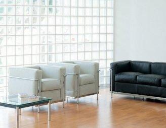 Cassina-Sessel von Le Corbusier, neu entdeckt für den Art-Déco-Look.