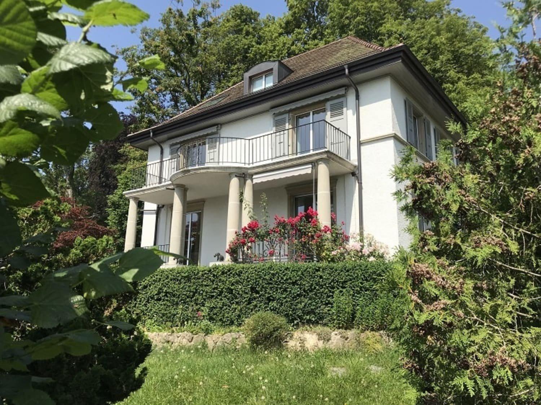 Schweizer Villa in Genf