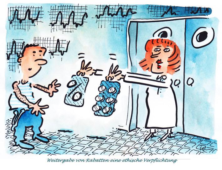 HMG Spital Weitergabe Rabatte