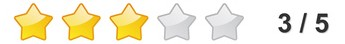 Rating Stars - 0 bis 5