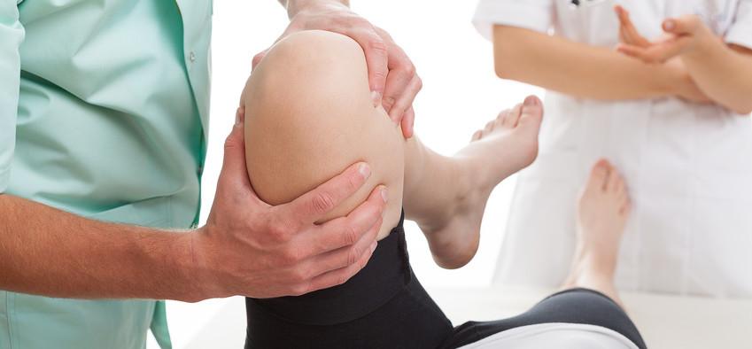 Training of broken leg