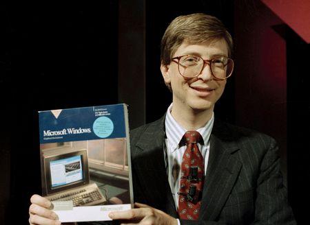 Bill Gates: Seinem Image zum Trotz ein Vordenker. (Keystone)