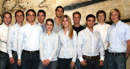 Das Organisationsteam des START Summit 2009: Studierende wollen das Unternehmervirus verbreiten. (zvg)