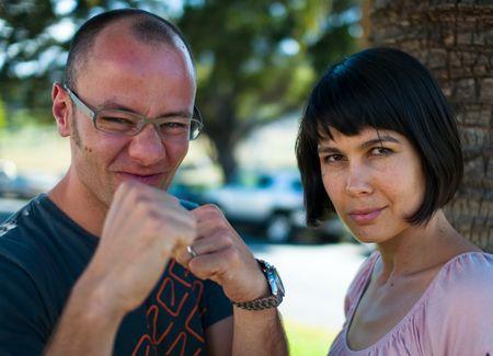 Gregory und Dania Gerhardt von Amazee: Bereit zum Kampf gegen Internet-Riese Amazon (© PS)