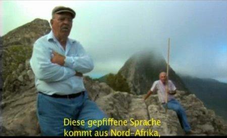 El Silbo: Die Pfeifsprache der Guanchen.