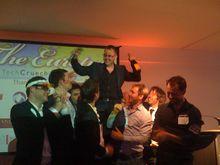 Die Techcrunch europas Awards sorgten für gute Stimmung. (Foto Dania Gerhardt)