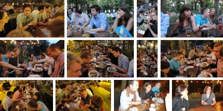Sandbox Networking 3G: Good food, Good people, Good ideas. (Bilder Sandbox Network)