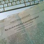 NZZ: Wie fördert man den Unternehmergeist?
