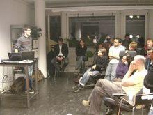Pascal von Rickenbach von StreamForge stellt sein Unternehmen am Webmonday vor.
