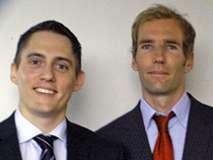 Marc Gitzinger und Marcel Tigges (Foto IFJ)