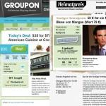 Groupon vs. eine seiner Adaptionen