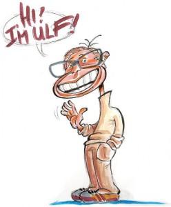 So sieht Thom Grüninger, Zeichner des ETH-Magazins Ulf Claesson