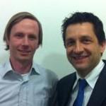 Auf der Suche nach sauberem Wasser: Luca Rossi und Jon Agustsson