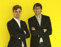Alexander Grimm (l.) und René Pfitzner von GP Aspara