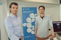 Die beiden Gründer von Frontify