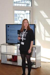 Mitorganisatorin Melanie Kovacs