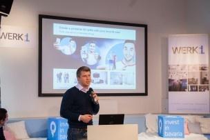 Alexander Ilic hat eine Software für eine 3D-Kameratechnologie entwickelt. Er ist später ein gefragter Mann. Bild: Mirjam Sonner.
