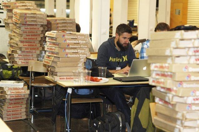 HackZurich Pizza