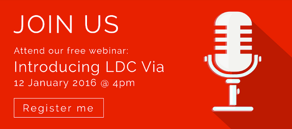 LDC Via webinar, January 12th 2016