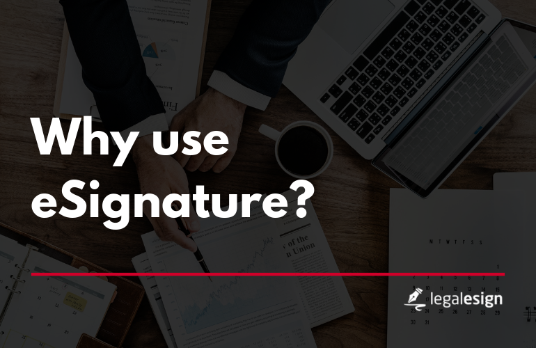 Image for Why use esignature?