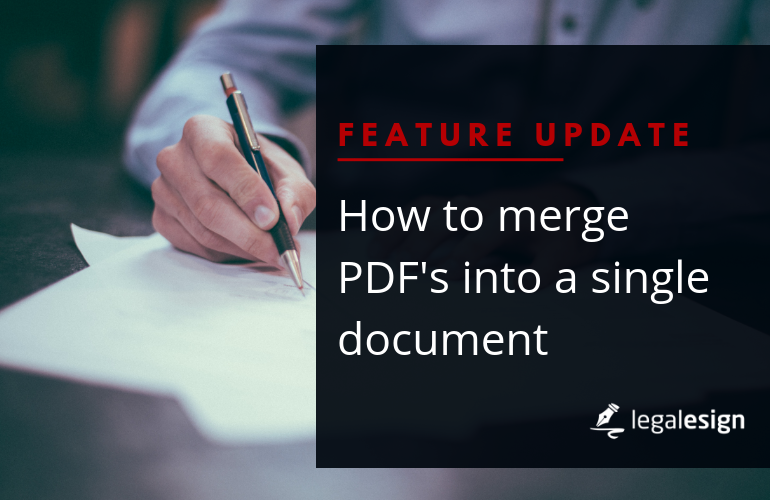How to merge PDFs into a single document