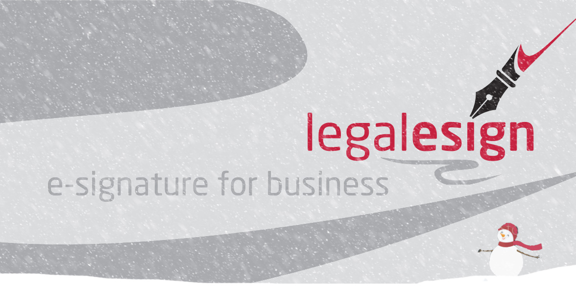 December 2017 update from Legalesign
