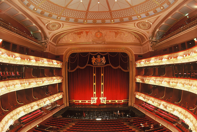 Set Designing for the Royal Opera House Stage