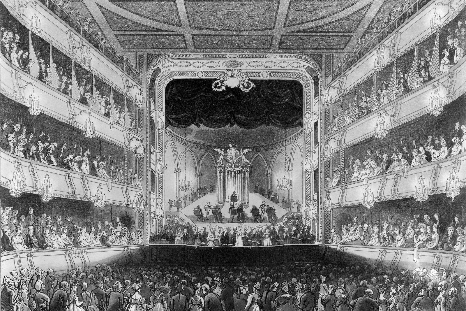 A History of the Royal Opera House