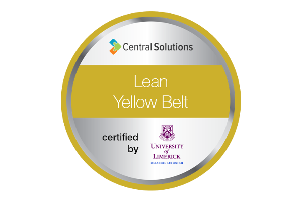 Central Solutions | Lean Six Sigma Yellow Belt