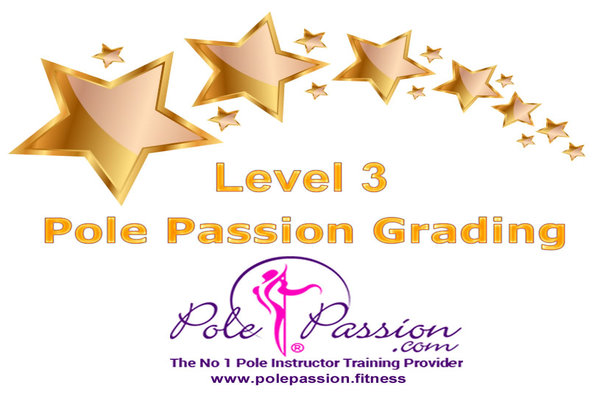 Pole Passion Fitness | Pole Passion Grading Level 3