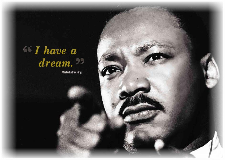 dr martin luther king a dream