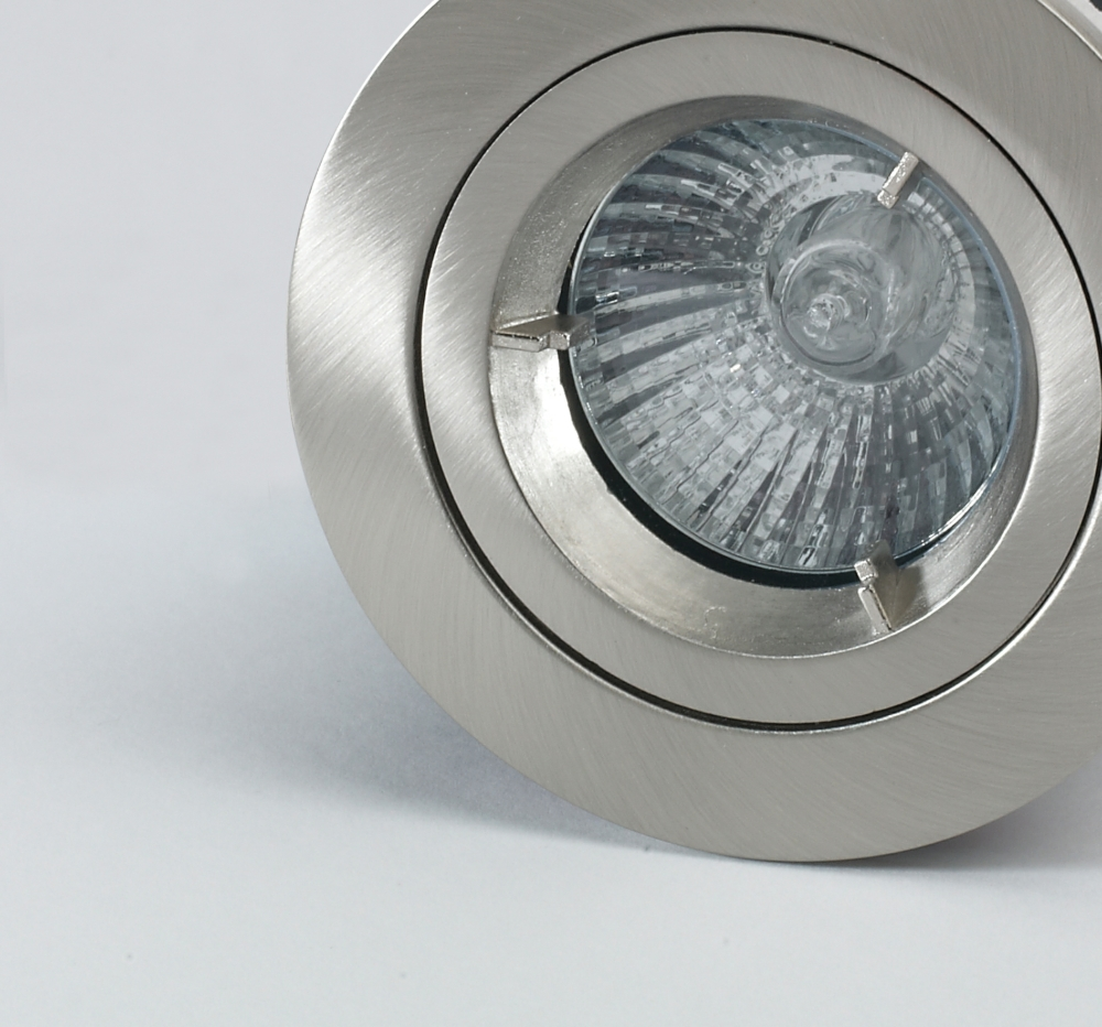 LED downlight close up