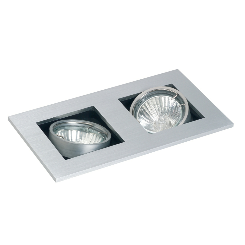 Gu10 studio tilt ceiling spotlight twin mozeypictures Choice Image