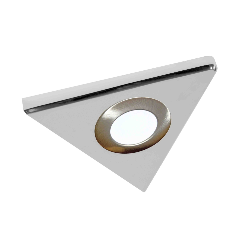 Sirius Under Cabinet High Output Led Flat Panel Square Light Cupboard Lights Circuit Triangle