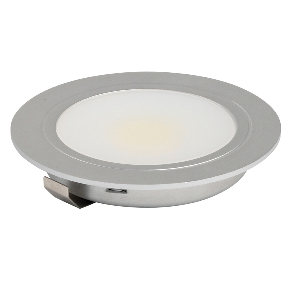 Cob led 3w high output recessed under cabinet downlight aloadofball Images