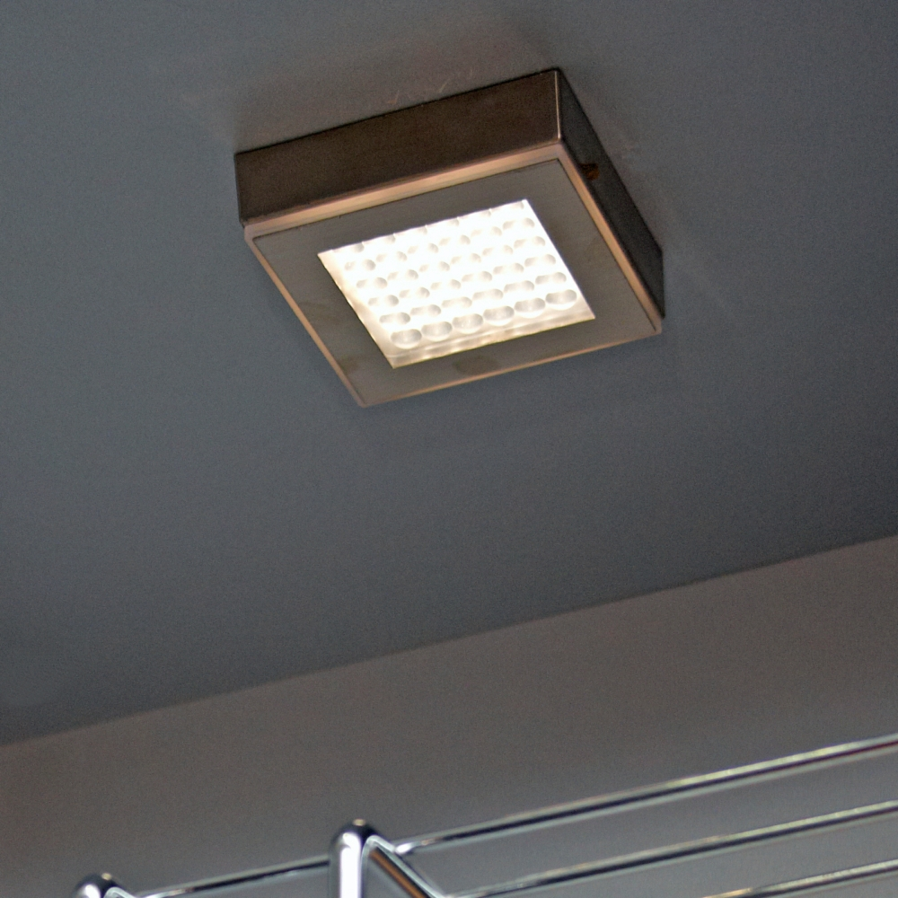Halo square high output led surface mounted under cabinet downlight