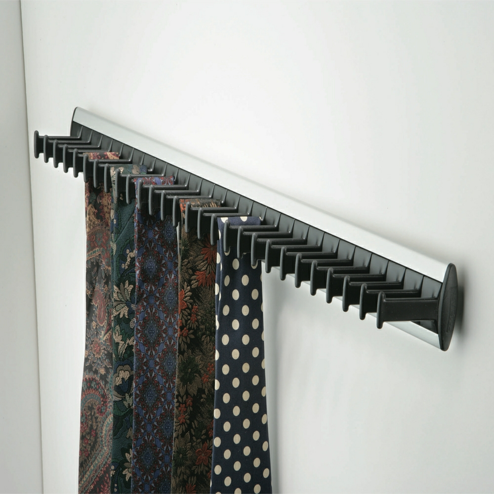 Tie Rack For Wardrobe Interiors