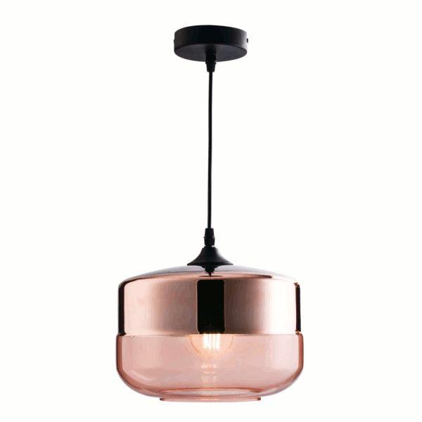 Endon Lighting Willis Glass LED Pendant Lights