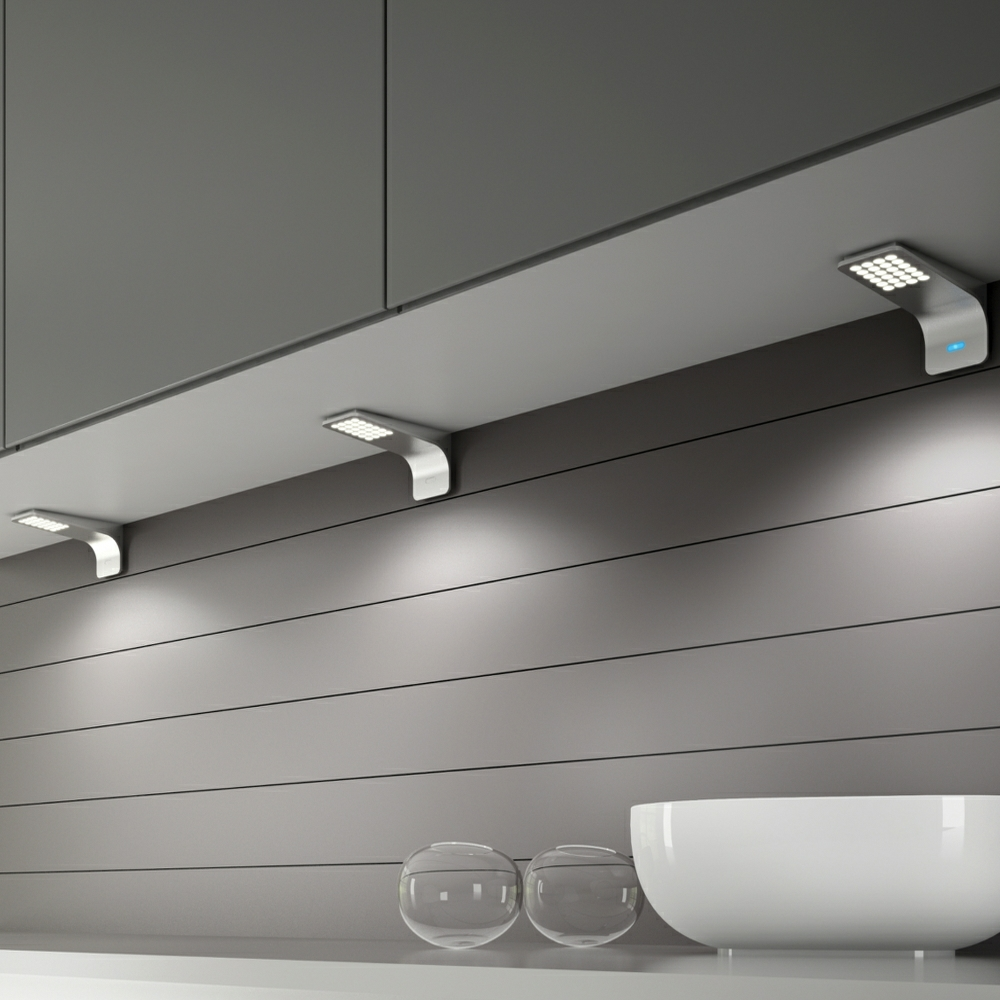 Modica led under cabinet surface mounted light mozeypictures Gallery
