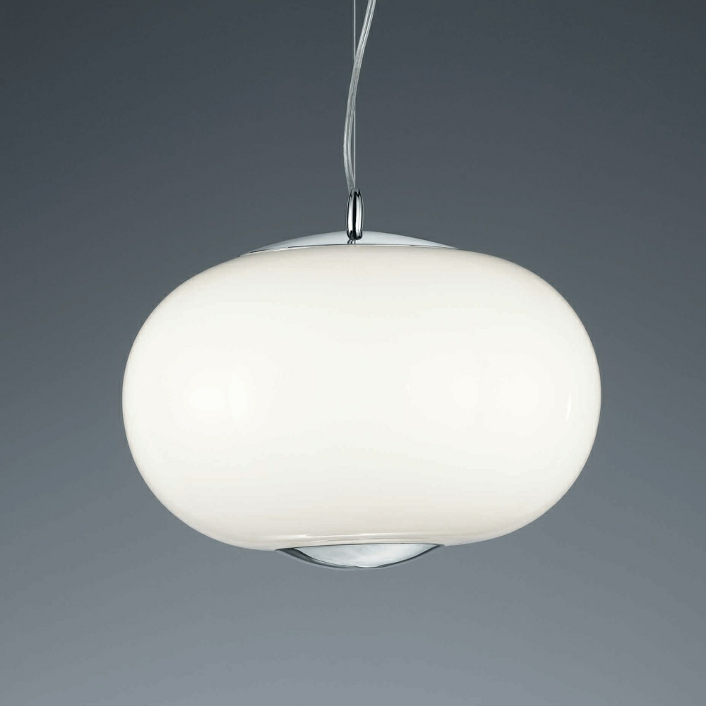 Big Apple Opal Glass Pendant Light