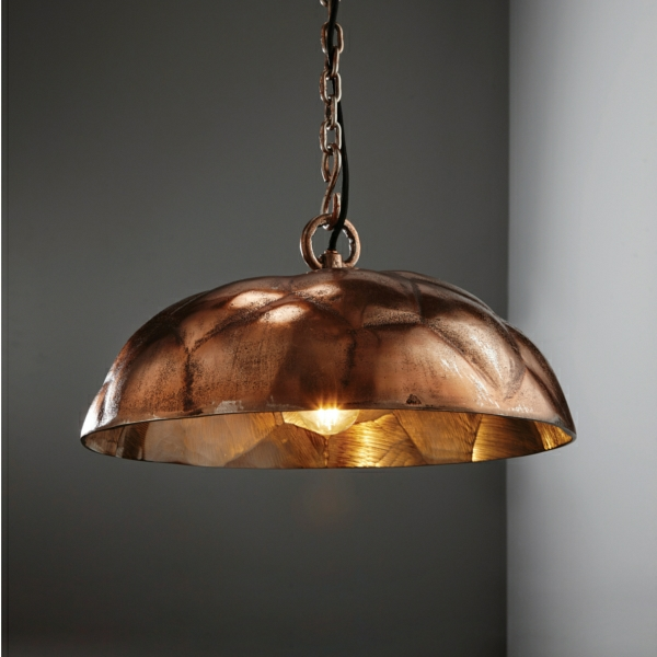 Cascara Cast Industrial Style Pendant Light