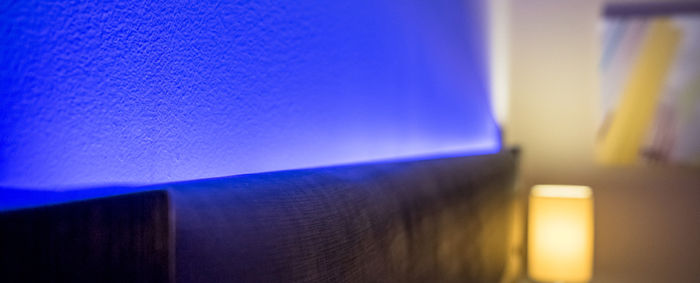 bed headboard led extrusion profile