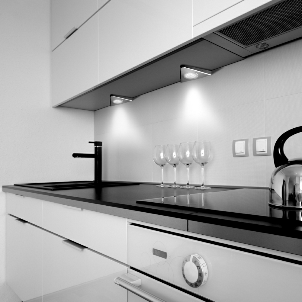 Kitchen LED downlights